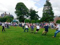 Tug-o-war at the Fete 2015