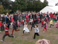 Children's races at the Fete 2012
